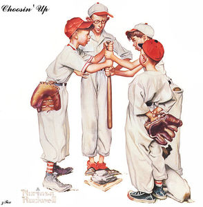 Norman Rockwell - Choosinアップ