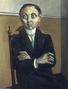 Otto Dix - ポートレート of Paul null . Schmidt