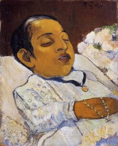 Paul Gauguin - Atitiの肖像