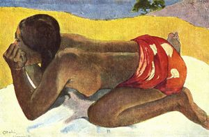 Paul Gauguin - だけで