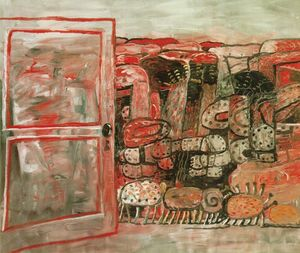 Philip Guston - 入り口