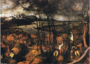 Pieter Bruegel The Elder - グルーミーデイ