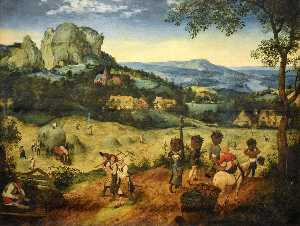 Pieter Bruegel The Elder - 干し草作り