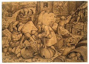 Pieter Bruegel The Elder - ペリシテ