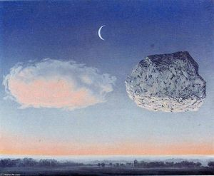 Rene Magritte - ザー 戦い の  ザー  アルゴンヌ