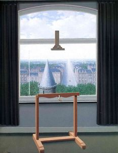 Rene Magritte - どこのEuclideは歩きました