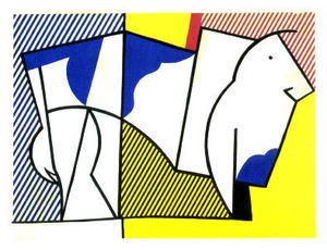 Roy Lichtenstein - 雄牛 三