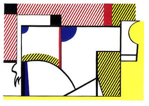 Roy Lichtenstein - 雄牛 六