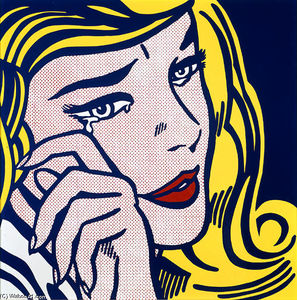 Roy Lichtenstein - 号泣 少女