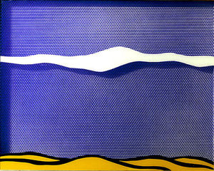 Roy Lichtenstein - 北極圏 風景