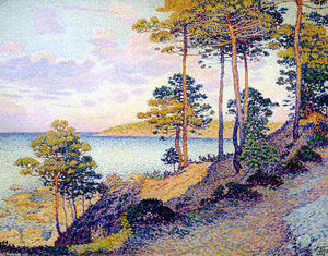 Theo Van Rysselberghe - サントロペでポイントサンピエール