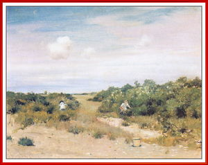 William Merritt Chase - Shinnecockヒルズ、LongIsland