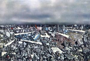Yves Tanguy - Multiplicatiion の アーク