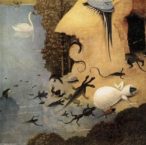 Hieronymus Bosch - 快楽の園のトリプティク(詳細)(13)