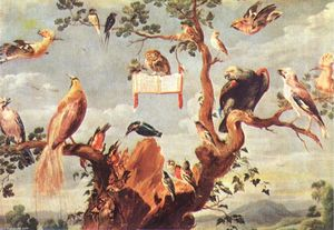 Frans Snyders - コンサート の 鳥