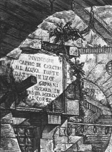 Giovanni Battista Piranesi - カルチェリD Invenzione
