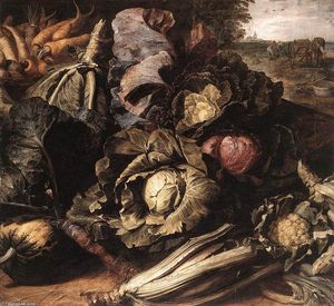 Frans Snyders - 野菜静物