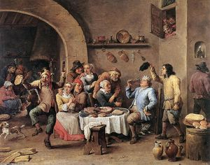 David The Younger Teniers - 十二夜 ザー 王 飲料