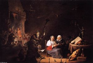 David The Younger Teniers - 魔女の開始