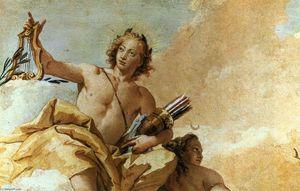 Giovanni Battista Tiepolo - アポロとダイ​​アナ