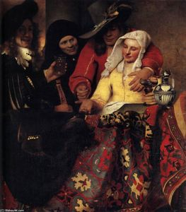 Jan Vermeer - Procuress