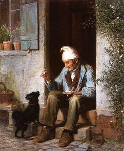 James Wells Champney - リトル乞食