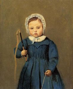 Jean Baptiste Camille Corot - Louis Robert as a 子供