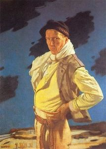 William Newenham Montague Orpen - アランの男