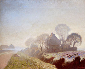 George Clausen - 11月には、朝