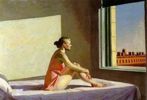 Edward Hopper - 朝 日