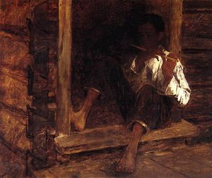 Jonathan Eastman Johnson - 黒人少年