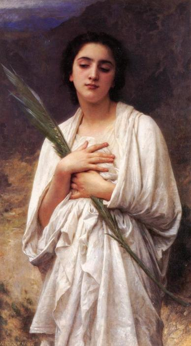 パームリーフ, 1894 バイ William Adolphe Bouguereau (1825-1905, France)