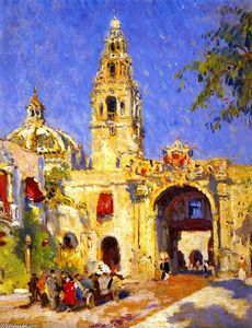 Colin Campbell Cooper - Panama-California 博覧会 , サンディエゴ , 1916