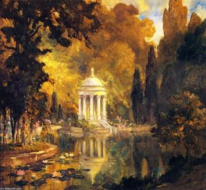 Colin Campbell Cooper - ザー プール , Prince's 公園 , Arajnuez