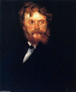 William Merritt Chase - の肖像画 氏 . Drindel