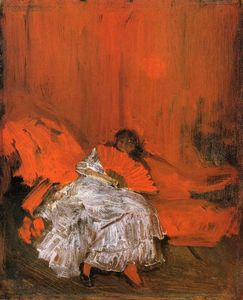 James Abbott Mcneill Whistler - 赤 and Pink : ザー 少し メフィスト