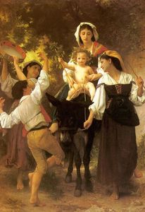 William Adolphe Bouguereau - 収穫から戻ります