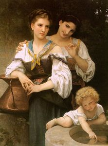 William Adolphe Bouguereau - ザー 秘密