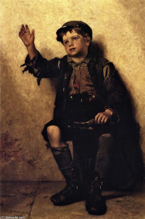 サー·シャイン?, 1885 バイ John George Brown (1831-1913, United Kingdom) | WahooArt.com