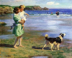 Edward Henry Potthast - 夏プレジャーズ