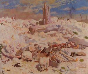 William Newenham Montague Orpen - Thiepval