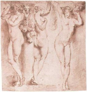 Peter Paul Rubens - 三Caryatids