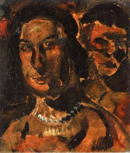 Georges Rouault - 二人の女の頭