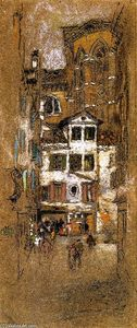 James Abbott Mcneill Whistler - フラーリの下で