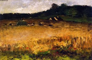 William Merritt Chase - 麦畑