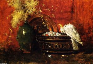 William Merritt Chase - ホワイトオウム