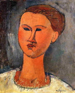 Amedeo Modigliani - 女性の頭部