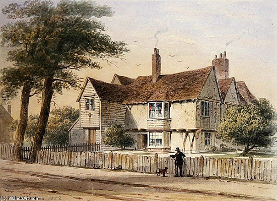 ザー 職業 家 バイ Thomas Hosmer Shepherd (1792-1864, United Kingdom) | 傑作コピー | WahooArt.com