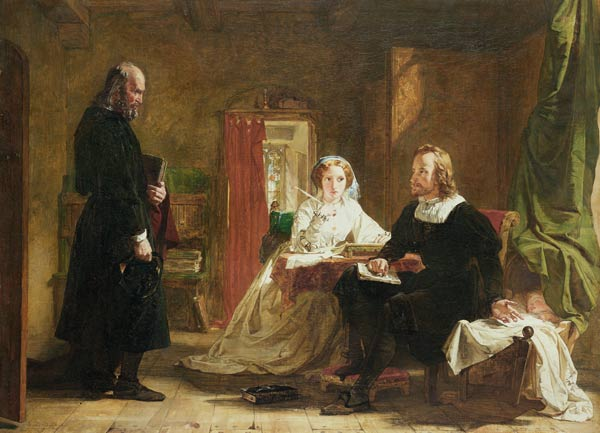 A 質問 の 信仰 バイ William Powell Frith (1819-1909, United Kingdom) | WahooArt.com