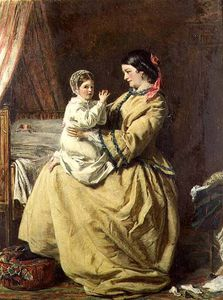 William Powell Frith - 夕方 祈り  -